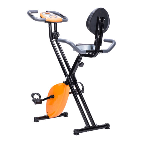 Folding Upright Magnetic Exercise Bike Cycling Bicycle Home Fitness Equipment