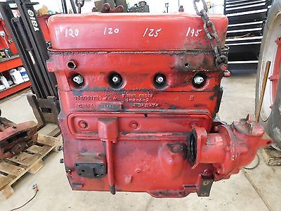 IH Farmall C 164 Super H Running  Long Block Engine NICE ONE! Antique Tractor
