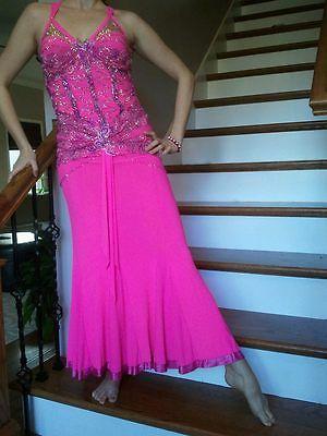 Designs to Shine ballroom dress. Size med.
