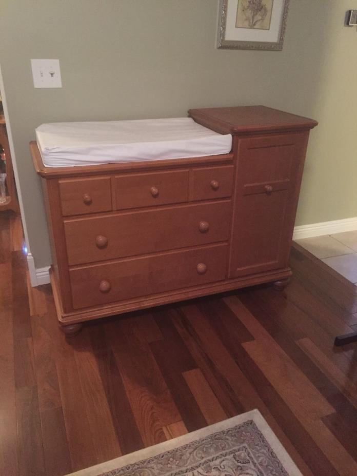 Baby Bed Changing Table Dresser For Sale Classifieds