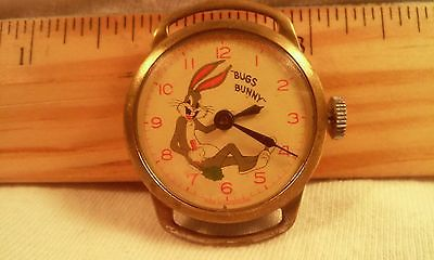 Bugs Bunny Character Watch WRISTWATCH   c.1950S Scarce/not working