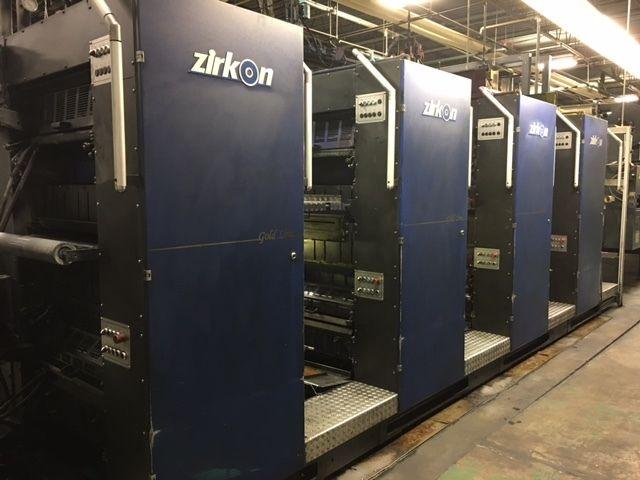 2006 Zirkon web press with 35.5