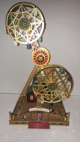 Mr Christmas Nottingham Fair Double Ferris Wheel AS-IS Parts/Repair