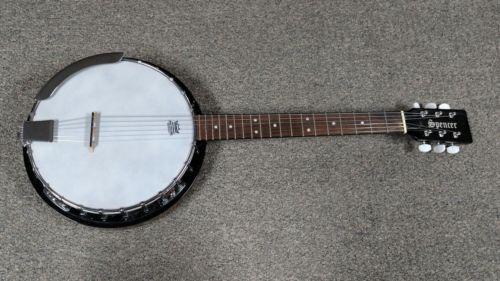 Spencer 6 String Banjo