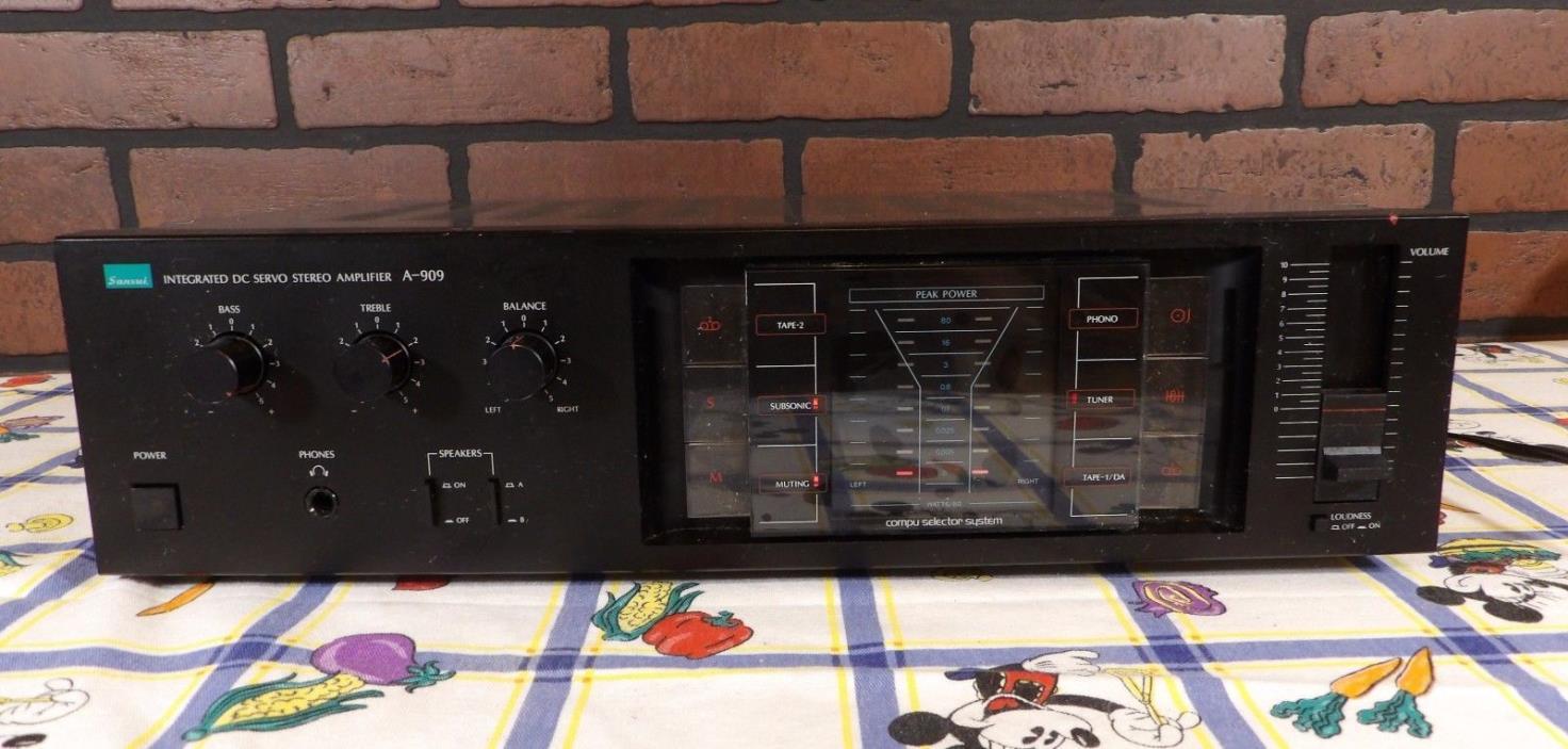 Sansui A-909 Integrated Amplifier