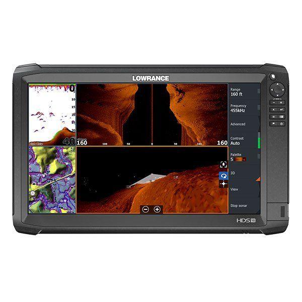 HDS-16 Carbon, Basemap, TotalScan Xdcr-------------13735-001