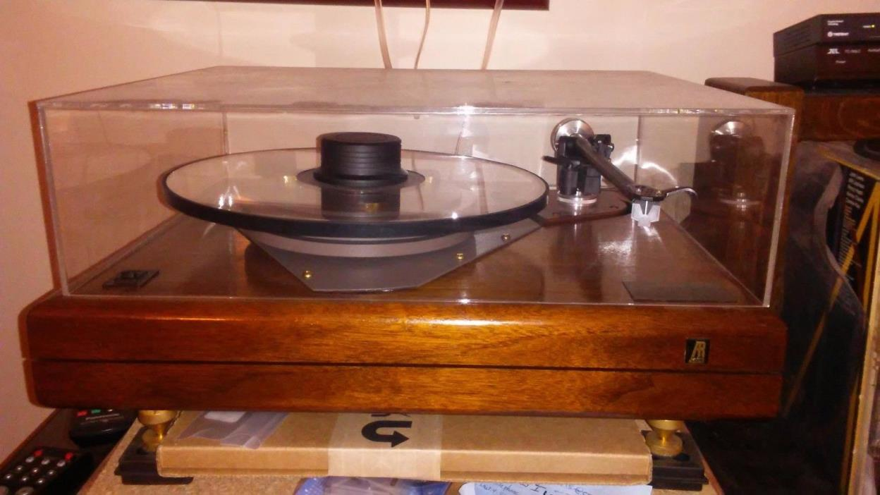 AR ES-1 Turntable Modified by Sound of the Wood