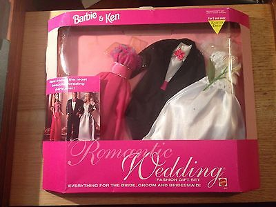 Barbie & Ken Romantic Wedding Fashion Gift Set