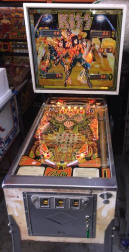 Kiss Pinball Machine By Bally