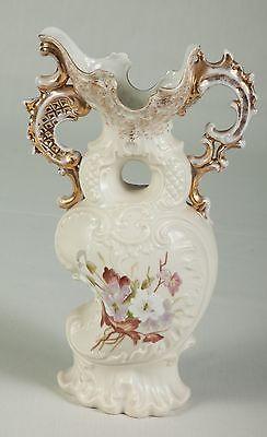 Antique Porcelain Hand Painted Pitcher signed Austria