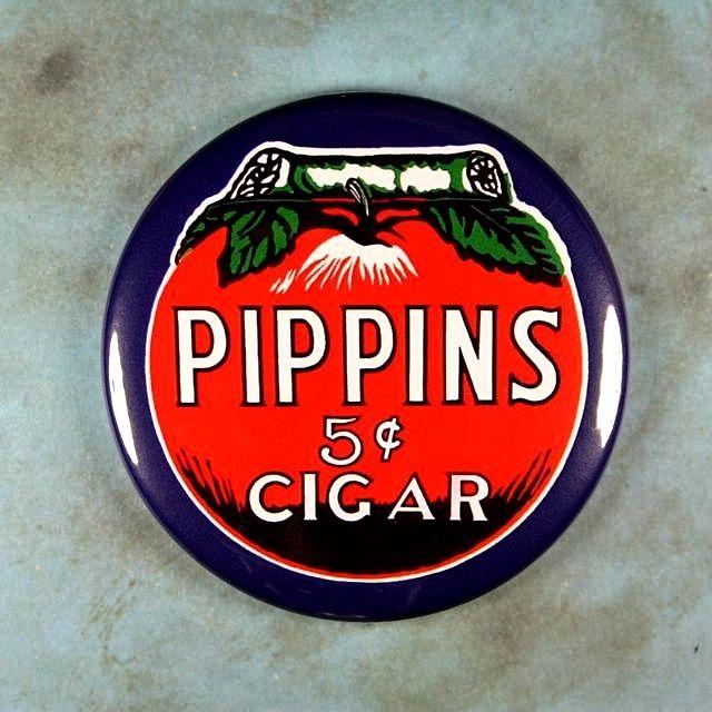 Vintage Tobacco Advertising Sign Fridge Magnet 2 1/4