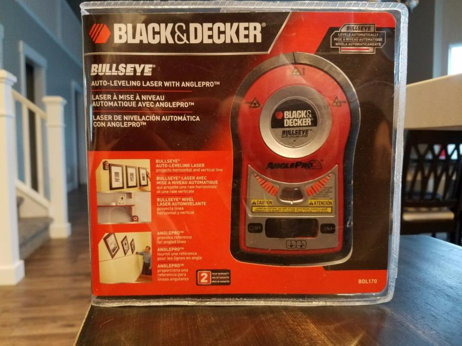 BLACK And DECKER Bulls Eye Auto-Leveling Laser with AnglePro-BDL170