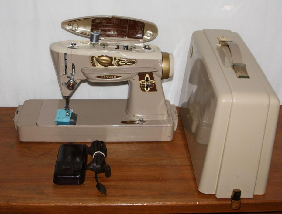 PROFESSIONALLY SERVICED - Singer 500A Sewing Machine, Made in USA, Rocketeer