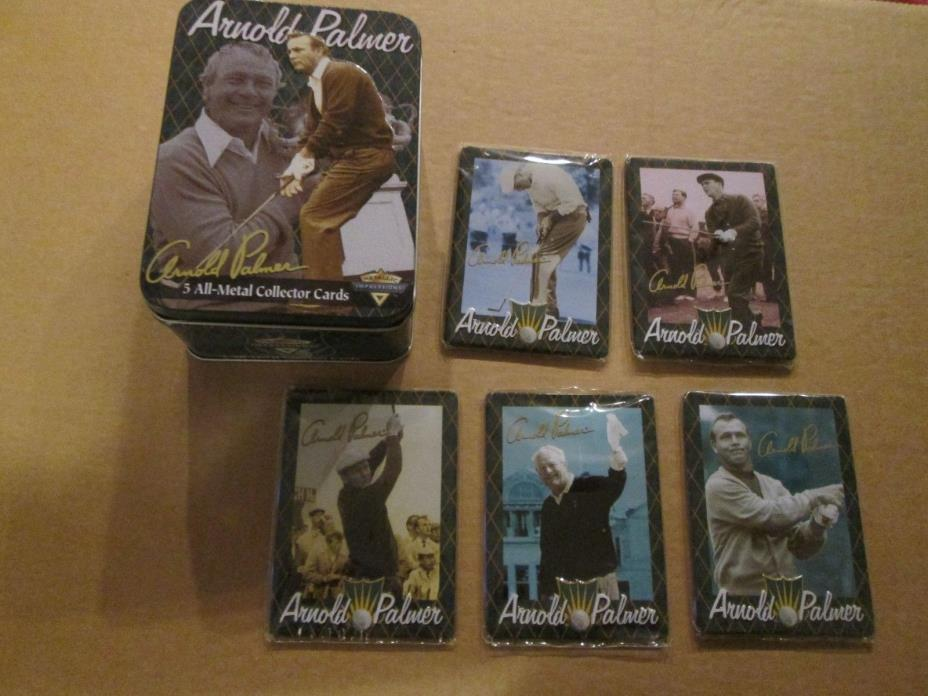 1995 Metallic Impressions Arnold Palmer Set COMPLETE MINT SEALED