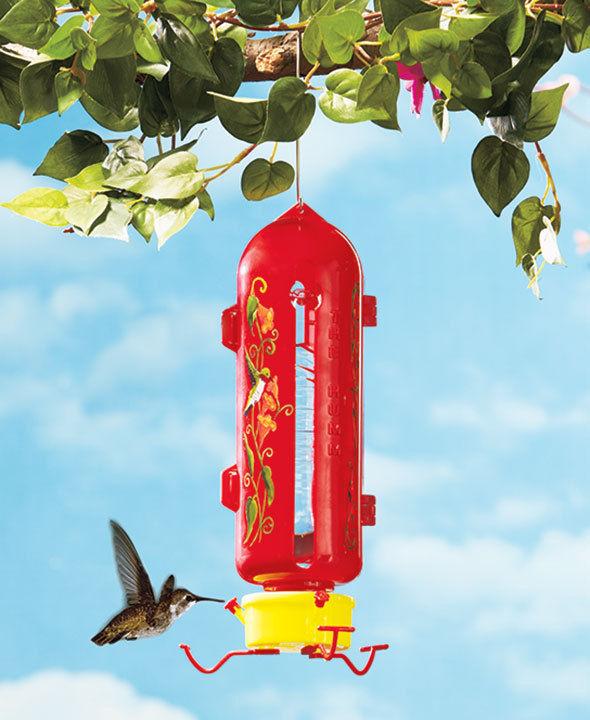 The Humm™ Hummingbird Feeder Garden Yard Outdoor Living Bird Wildlife Nectar