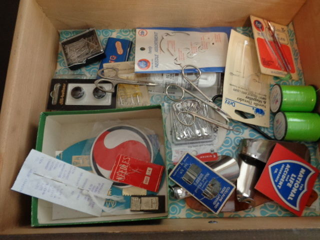 SEWING JUNK DRAWER LOT