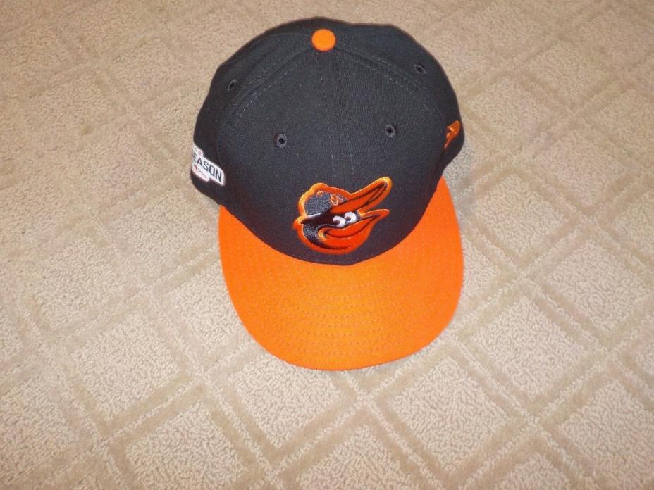 Chris Davis Baltimore Orioles Game used worn hat 2016 post season MLB Cert