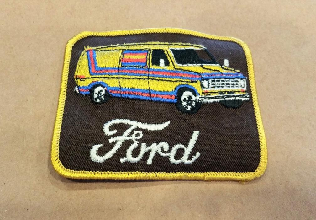 1970s Vintage Ford Van / Camper Van / Econoline / Captains club Wagon / Boss Van