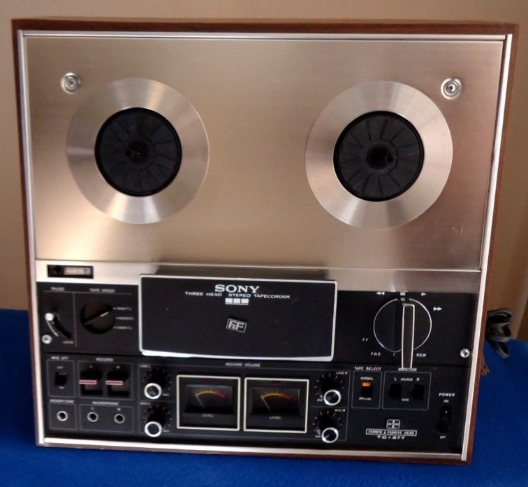 Sony TC-377  Reel to Reel Tape Recorder, See Video !