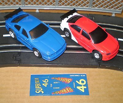 ARTIN 2 SLOT CAR 1/43 + STICKER