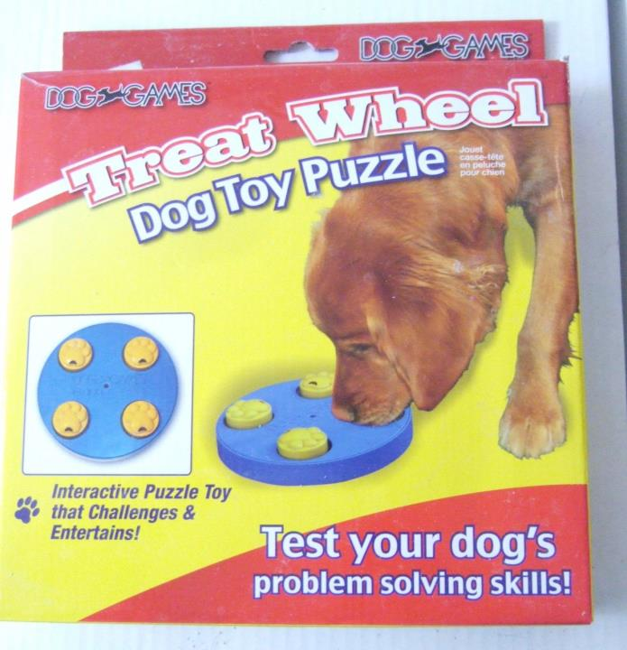 Treat Wheel Dog Toy Puzzle