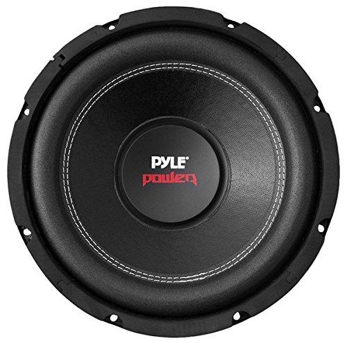 Pyle PLPW10D 10-Inch 1000 Watt Dual 4 Ohm Subwoofer Black Steel Basket Speaker