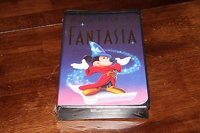 Fantasia New VHS, 1991 Disney's Masterpiece New - Never openwed
