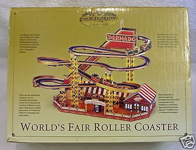 Mr Christmas Gold Label World's Fair Roller Coaster