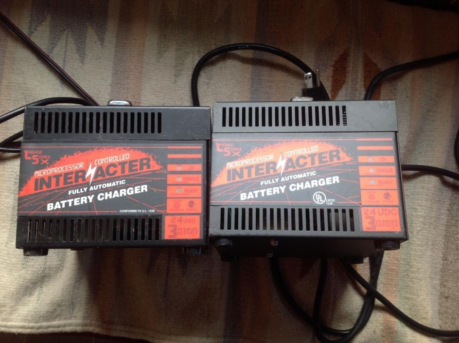Interacter Battery Charger For Sale Classifieds