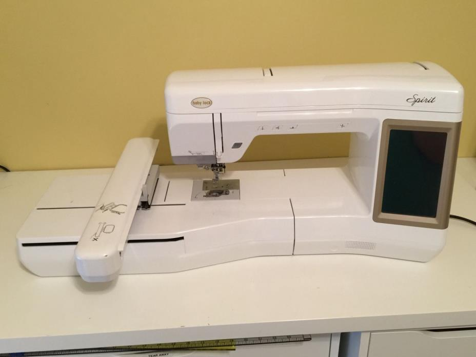 babylock spirit embroidery machine