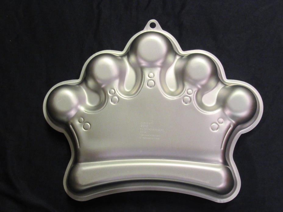 wilton CROWN CAKE PAN king- queen- mardi gras    #2105-1015