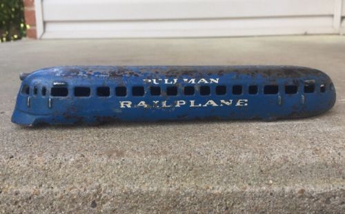 ARCADE PULLMAN RAILPLANE WORLD'S FAIR 1934  8-3/4