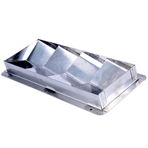 Amarine-made Boat Marine Stainless Steel Vent (4 Louver)