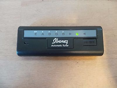 Ibanez  Automatic Guitar Tuner BC-550 Electric Bass Acoustic Guitar
