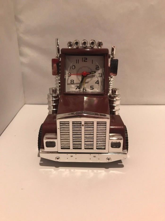 Truck (Semi) Talking  Alarm Clock Vintage Trucking  with Sounds & Lights