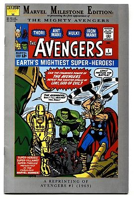 Marvel Milestone Edition: Avengers #1- first Issue-1992 comic book