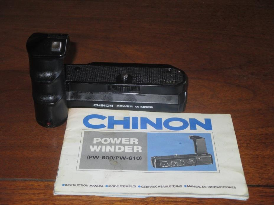 CHINON Power Winder  PW-600 With Instructions