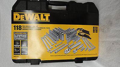 DeWalt dwmt72163  118piece Mechanics Tool Set Item# 3608