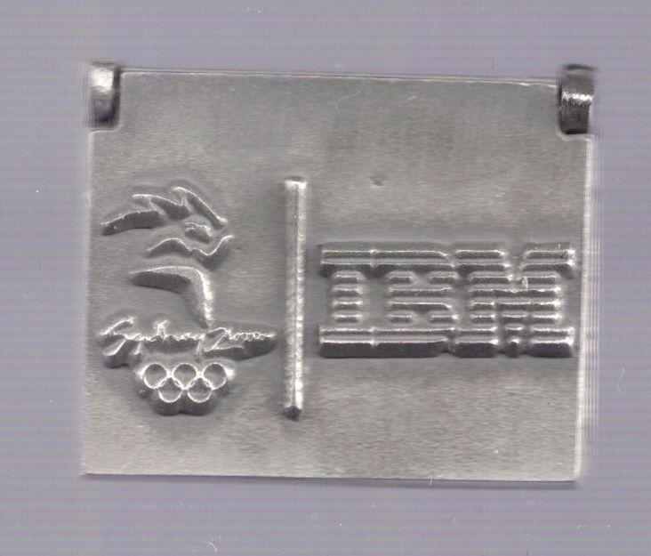 2000 IBM Sydney Olympic Laptop Pin Computer