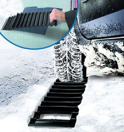 Traction Pro Auto Tread and Ice Scraper Mud Snow Heavy Duty Construction Best