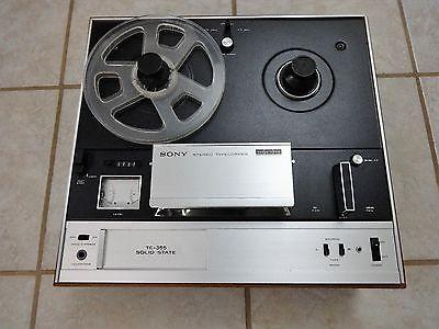 Vintage Sony Three Head Reel to Reel Tape Recorder TC-366  Needs Belts