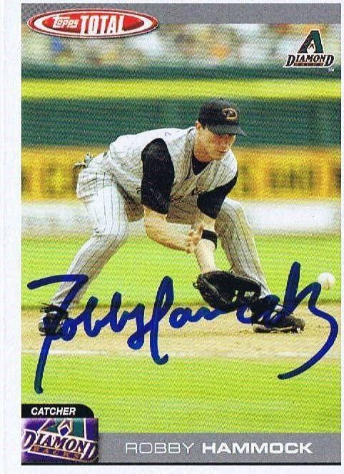 Robby Hammock 2004 Topps Total Autograph #189 Diamondbacks