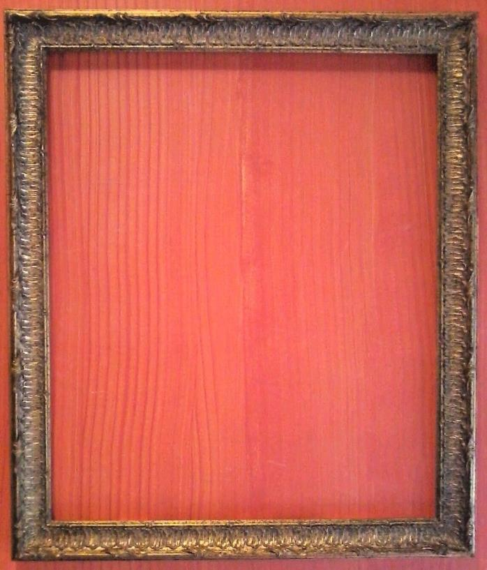 FAB! STANDARD 20 X 24 PICTURE FRAME CARVED GOLD LEAF ALL WOOD 2