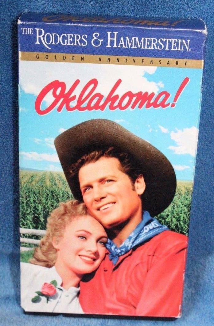 Rogers & Hammerstein Oklahoma Golden Anniversary VHS Tape