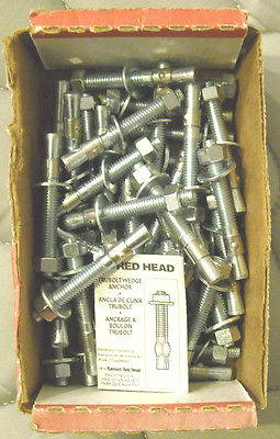 (42-COUNT) RED HEAD WS-3830 3/8