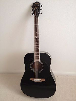 IBANEZ V200S BLACK  ACOUSTIC GUITAR
