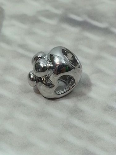 Pugster Mother Child Open Heart Love Charm