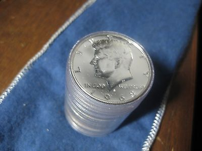 1 Roll of Uncirculated 1968 S, Kennedy Proofs, 40% Silver