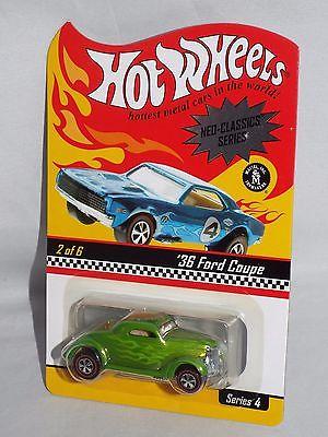 Hot Wheels 2005 RLC HWC NEO-CLASSICS Series '36 Ford Coupe #03966