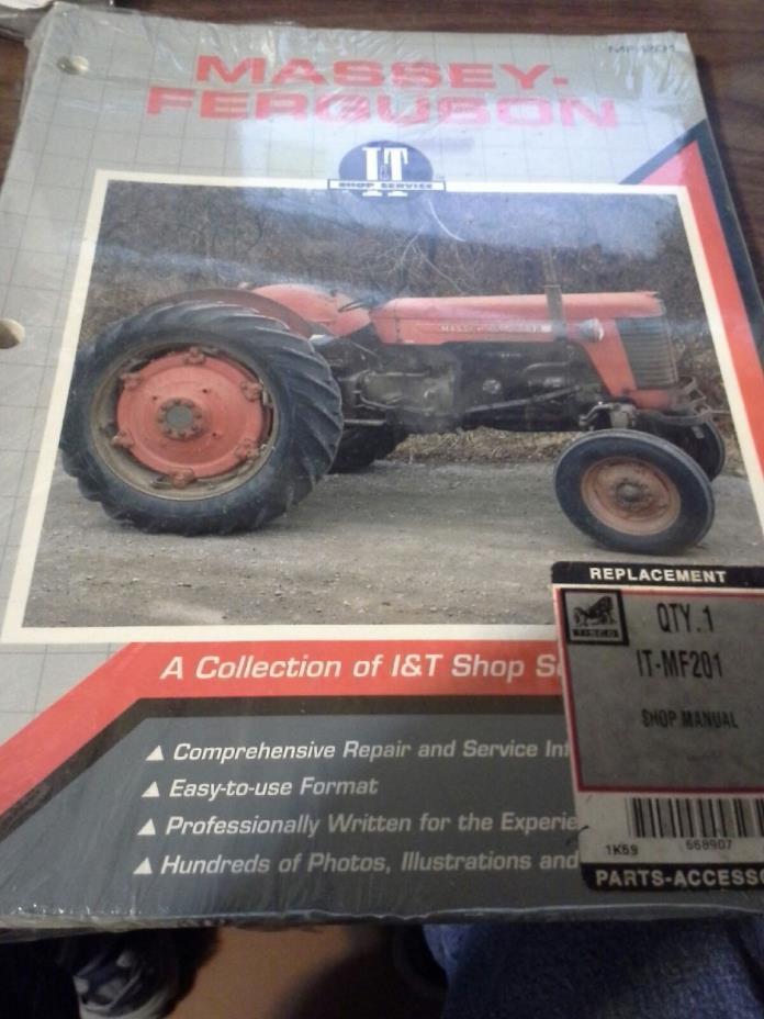 I&T Shop Manual Collection Massey Ferguson 65 85 88 90 1080 1100 1135 1150 1155
